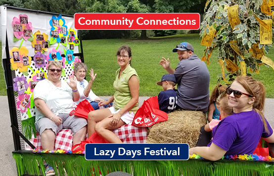 Community Connections Lazy Days Festival